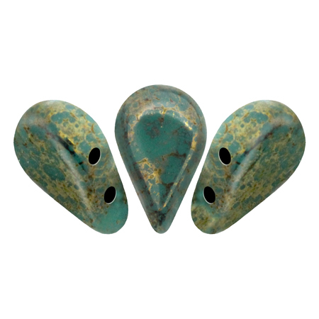 Opaque Green Turquoise Bronze - Amos® par Puca®