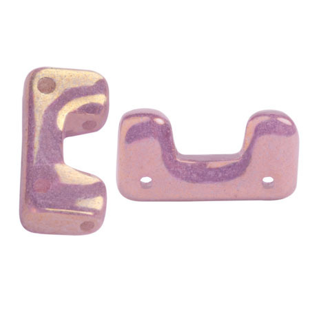Opaque Mix Violet/Gold Ceramic Look- Télos® par Puca® - 03000-14496